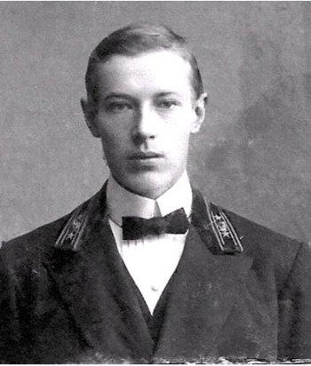 Михаил Иванович Тверитинов. Предположительно 1913 г.