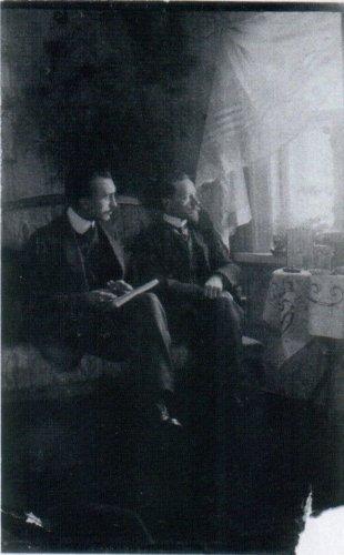 Н.О.Фрейман и С.А.Пырсин. Фото находится в Государственном архиве Рязанской области.
