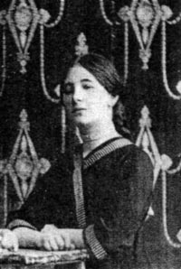 Клава Солидова (бабушка Жени Каширина) «на выданье». 1922 г.