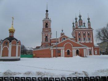 Николо-Ямской храм — подворье Свято-Иоанно-Богословского монастыря.<br />Фото Т.Шустовой