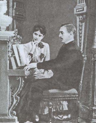 Сергей Павлович с женой Мариной Сергеевной