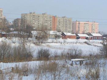 Вид на улицу Старое село с улицы Бугровка