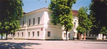 Город Касимов. Здание бывшего духовного училища,  построенное по проекту И.С. Гагина