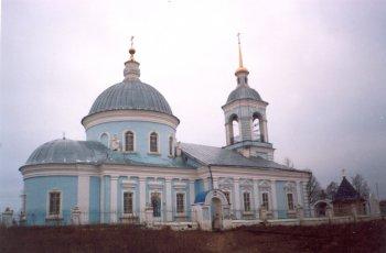 Село Борки. Спасский храм