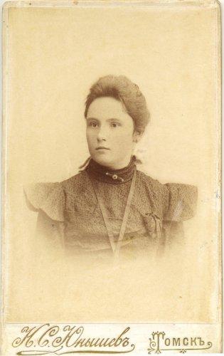 Татьяна Тимофеевна Рябцева, урожд. Крылова (1915 г.)