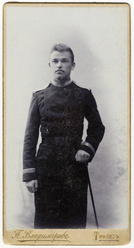 Константин Иванович Рябцев, юнкер Тифлисского военного училища (1903 г.)