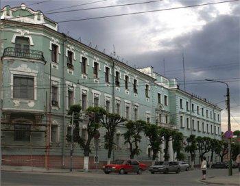 Рязань, Здание бывшей гостиницы Штеертов (ул. Астраханская, д. 46/46