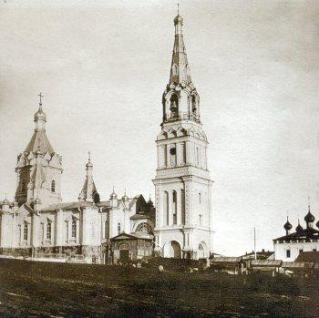 Город Касимов. Колокольня Вознесенского собора (1900 г.)