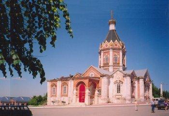 Город Касимов. Современный вид Вознесенского собора