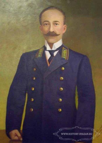 Основатель Старожиловского конного завода П.П. фон Дервиз.