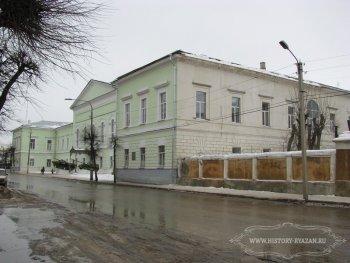 Рязань, здание Духовной семинарии, 2009 г.