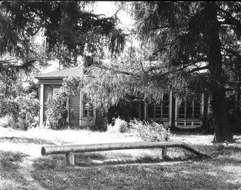 Усадьба Никитинских. Костино. Школа для крестьянских детей. 1985 год.