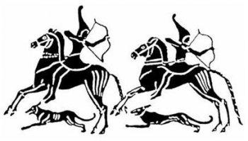 Киммерийские всадники.