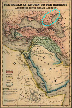 Талмудисты позапрошлого века не сомневались, что народ Магог обитает на территории России…