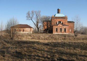 Успенская церковь села Новики Спасского района. Фото Т.В.Шустовой.