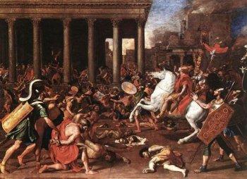 Н. Пуссен «Разрушение Иерусалимского храма».
