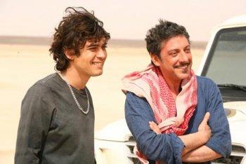 Серджио Кастеллитто и Риккардо Скамарчио (кинофильм «Итальянцы», 2009 г.).