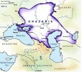 Хазарский каганат поставлял на экспорт всего два вида «продукции» – рыбий клей и рабов.