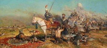 П. Рыженко «Калка» – именно половцы втянули русских князей в авантюру против татаро-монголов, окончившуюся трагедией на Калке.