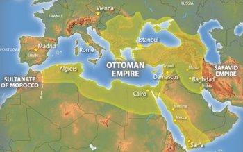 Помимо Болгарии и Греции под властью Османской империи находились Северная Африка, Палестина, Аравийский полуостров, Месопотамия, Кавказ, Крым и Балканский полуостров.