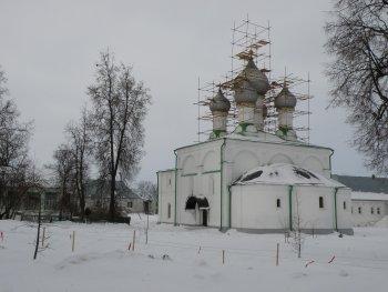 Храм Солотчинского монастыря