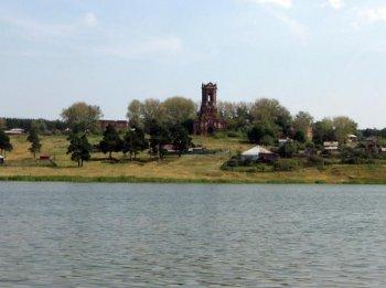 Фотография посёлка «Коммуна» сделана мною в августе 2008 года.
