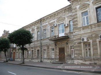 Здание первого в Рязани «Дома родовспоможения» им. Сергия Живаго