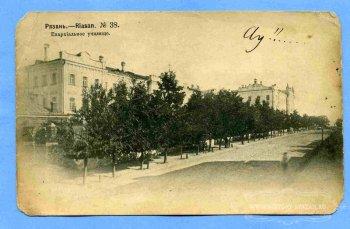 Епархиальное женское училище на Владимирской (Свободы) улице.