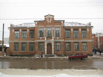 Здание бывшего Коммерческого Романовского женского училища Е.Е.Малашкиной на Семинарской улице