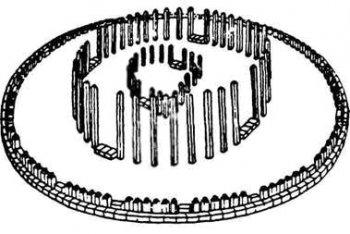 …и для сравнения реконструированный А. Диаковичиу «старый храм» из столицы Дакии Сармизегетузы.