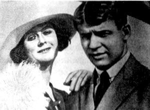 Айседора Дункан и Сергей Есенин. Фото 1922 г.