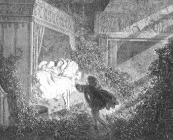 Иллюстрации Густава Доре к «Спящей красавице» стали классическими.