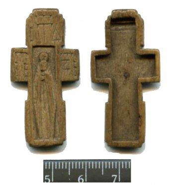 Рис. 1. Крест-реликварий из Кремля Переяславля Рязанского.