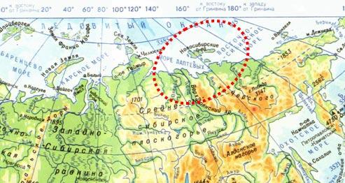 беринговпролив на карте мира