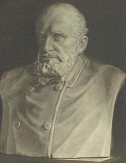 А.С. Голубкина.  «Г.А. Захарьин». 1910