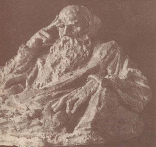 А.С. Голубкина.  «Л.Н. Толстой». 1927