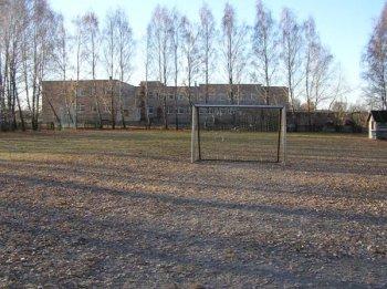 Школу построили около стадиона