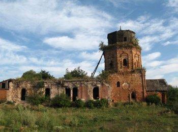 Село Костино. Богоявленская церковь. 2008 год.
