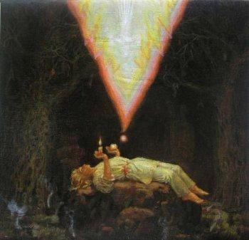 Одна из живописных фантазий  – «Восхищение света»