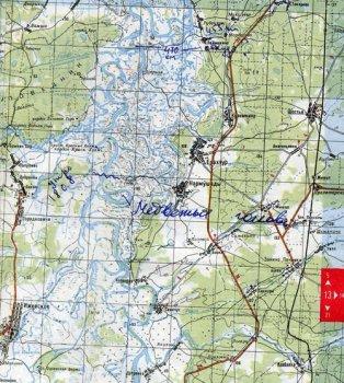 Остров  Медвежья Голова  расположен на Оке чуть выше устья реки Пра. Здесь, на этом участке, между Спасском и Касимовым, Ока, пересекая Мещёру, образует ряд крутых излучин, называемых Кочемарскими луками