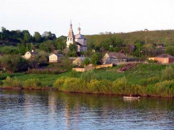 Село Старая Рязань. Наши дни.