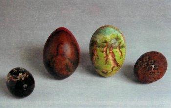 Пасхальные яйца. Конец XIX века.