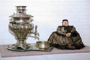 Самовар рязанского купца, конец XIX века.