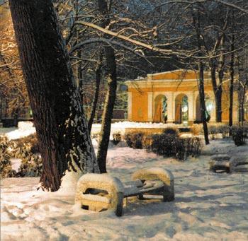 Центральный парк культуры и отдыха. Наши дни.
