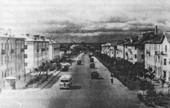 Рязанские новостройки 1950-х годов.