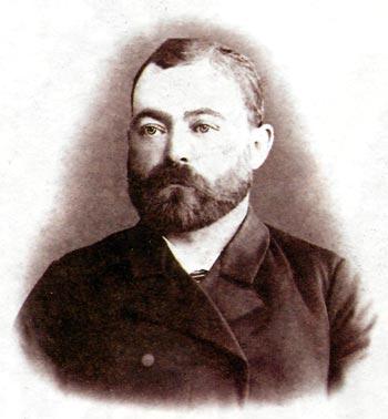 Председатель стачкома Рязанского узла Московско-Казанской железной дороги Г.М. Орлов, 1905 год.