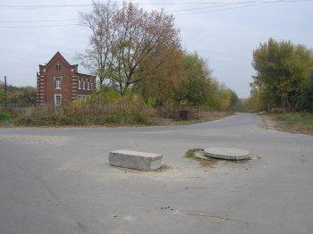 Место, где стоял Троицкий храм села Шереметьево-Песочня