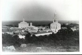 Казанский явленский женский монастырь. Рязань, 1904 г.