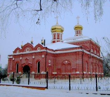 Возрожденный Казанский храм монастыря
