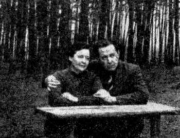 Наталья Решетовская и Александр Солженицын в Солотче, около 1961-1963 гг.